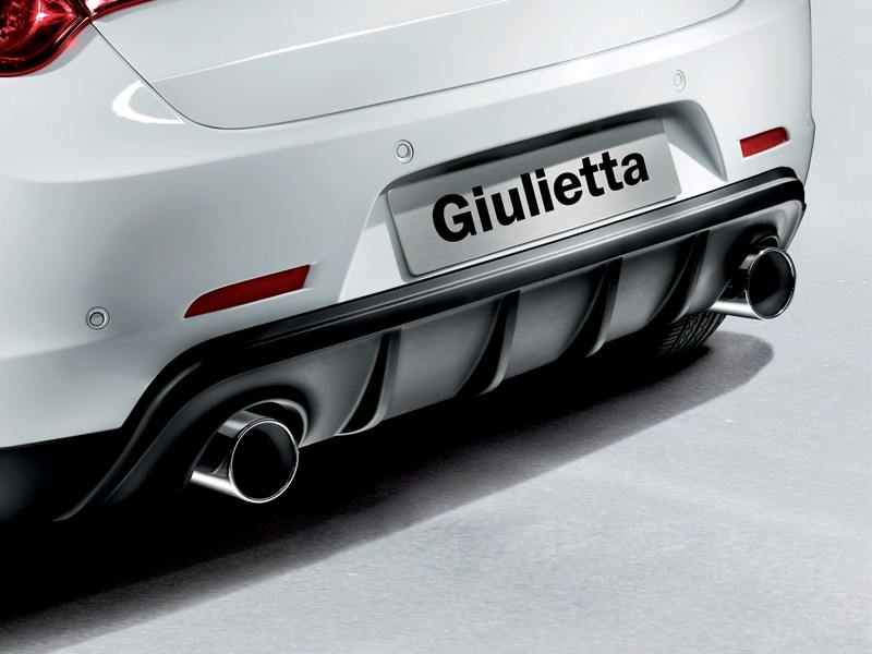 Giulietta Twin Exhaust Tailpipe Kit