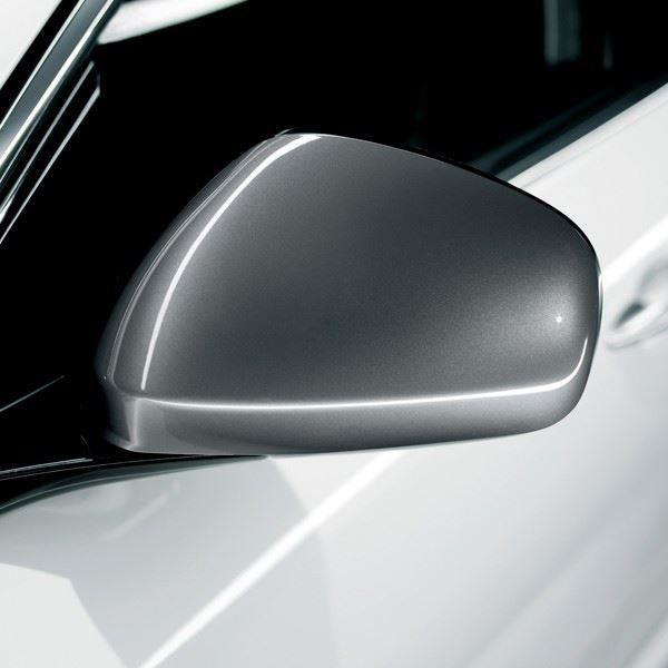 Mirror Covers Giulietta/MiTo Satin Chrome Replacement Pair