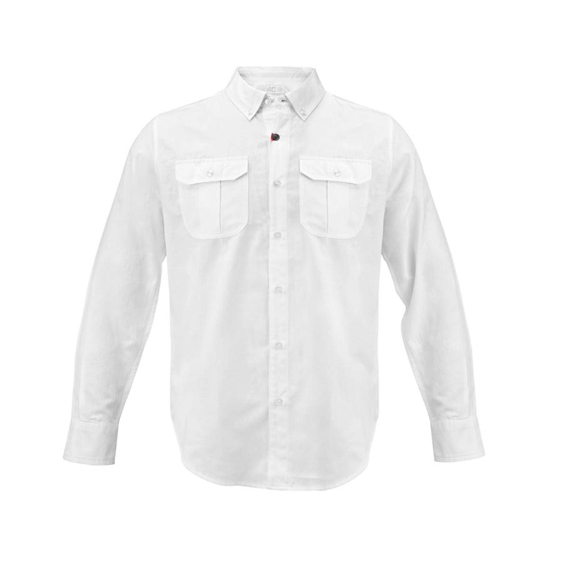 Genuine Alfa White Mens Shirt 4C [Size: S]