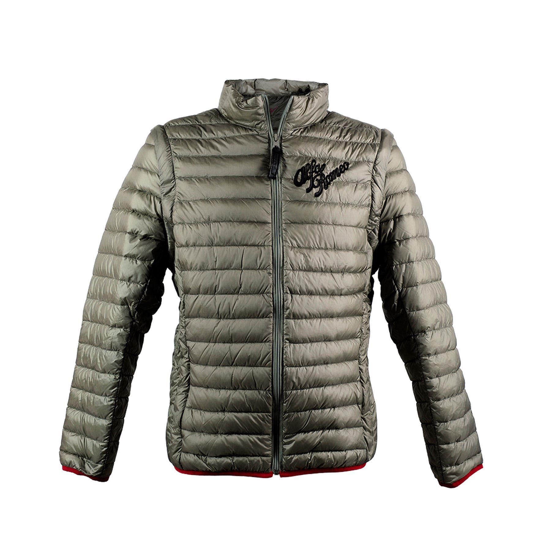 Genuine Alfa Grey Heritage Light Jacket, XXL [Size: XXL]