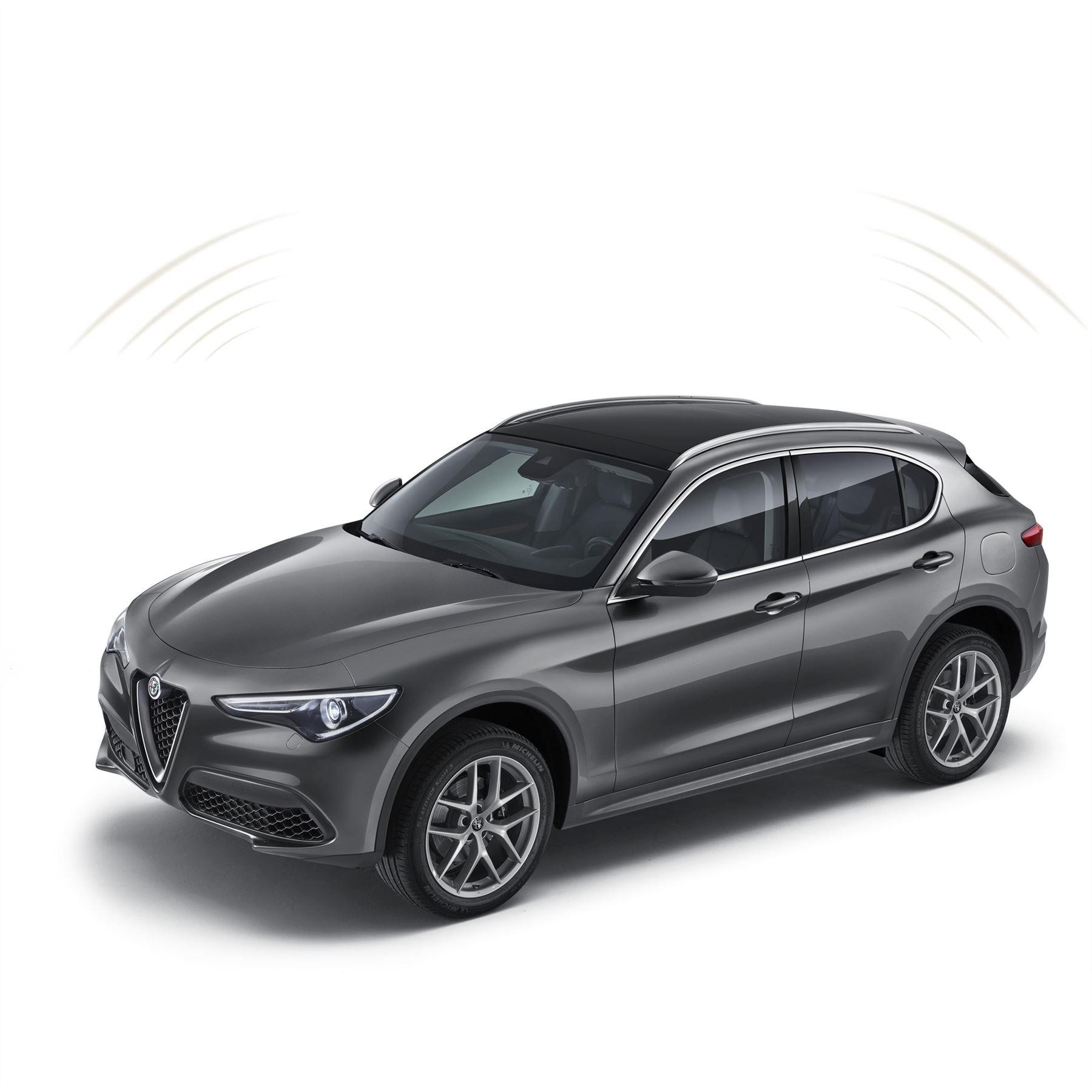 Stelvio/Giulia Volumetric/Anti-Theft Car Alarm