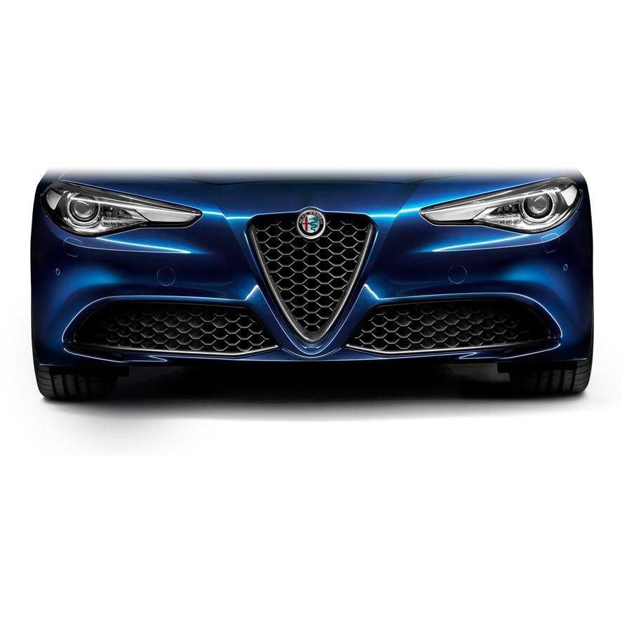 Giulia Front Grill Carbon Fibre - Veloce Versions