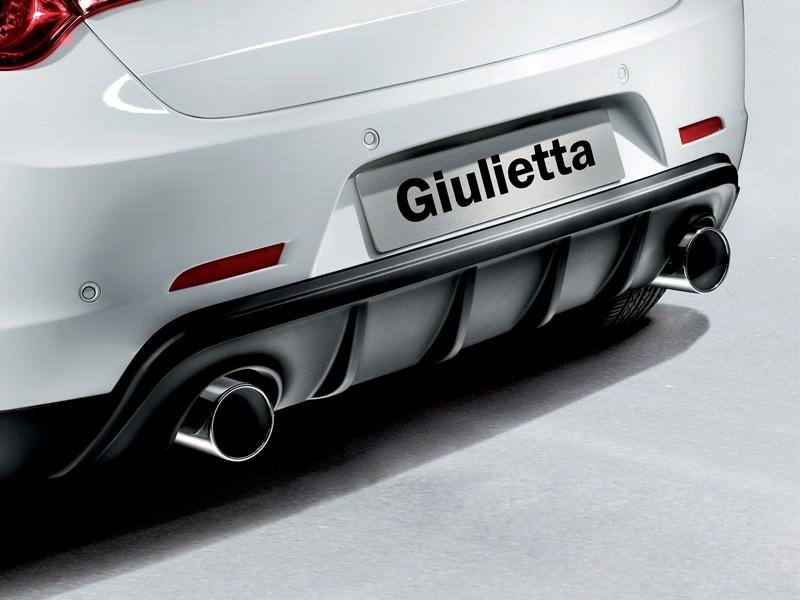 Alfa Giulietta Second Exhaust Tailpipe - Right Side