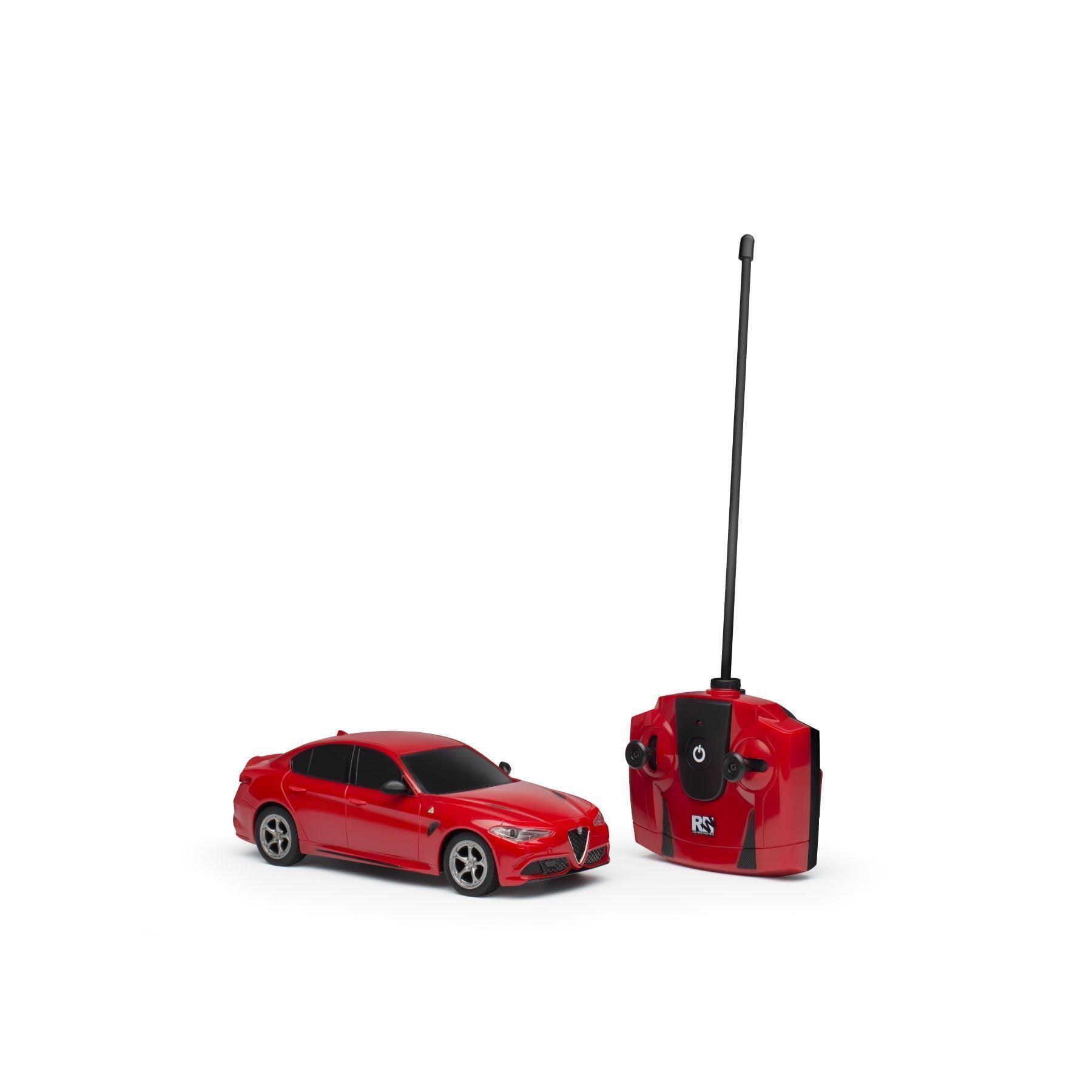 Genuine Alfa Red Giulia Quadrifoglio Radio Control