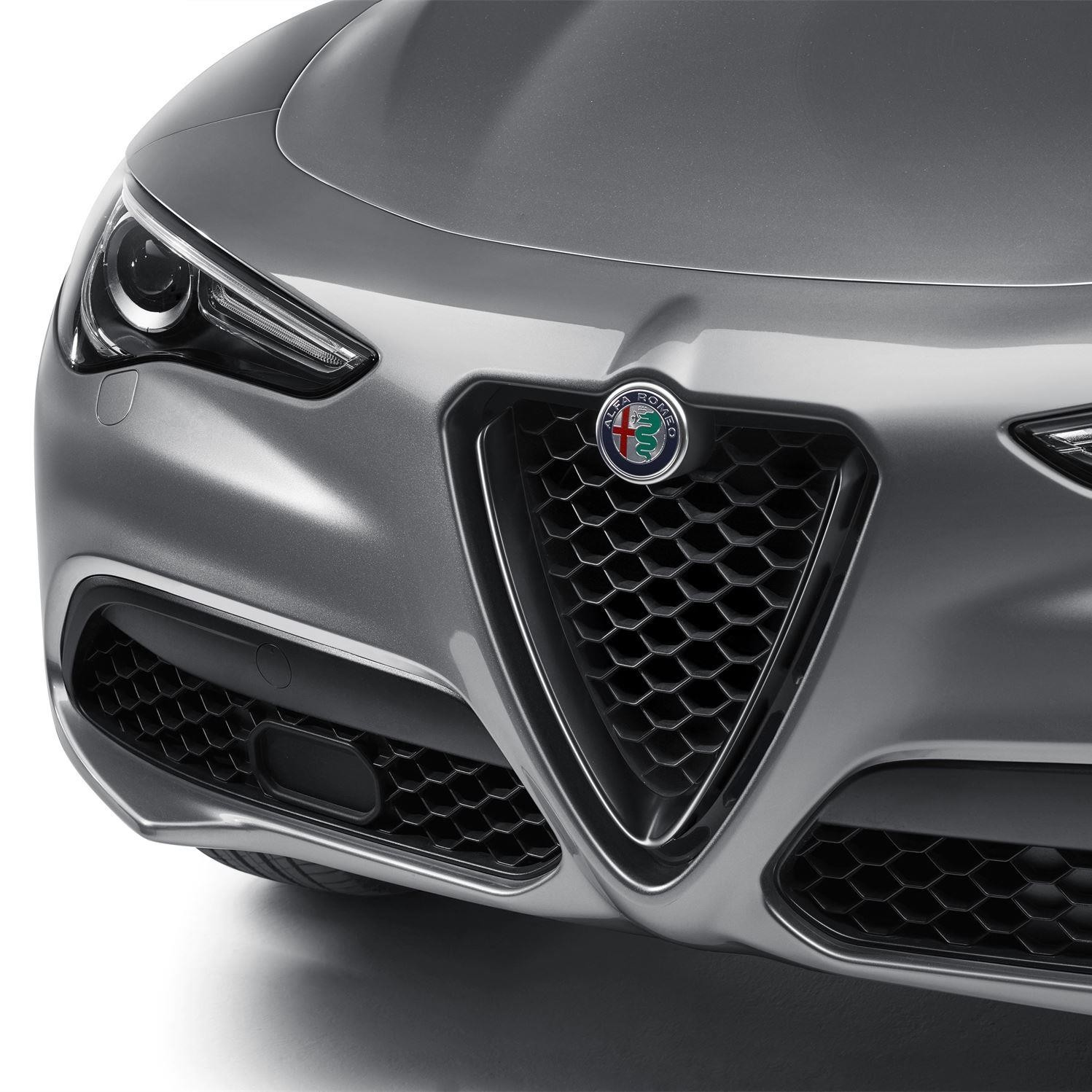 Stelvio Front Grill/Air Intake for Standard and Super Version