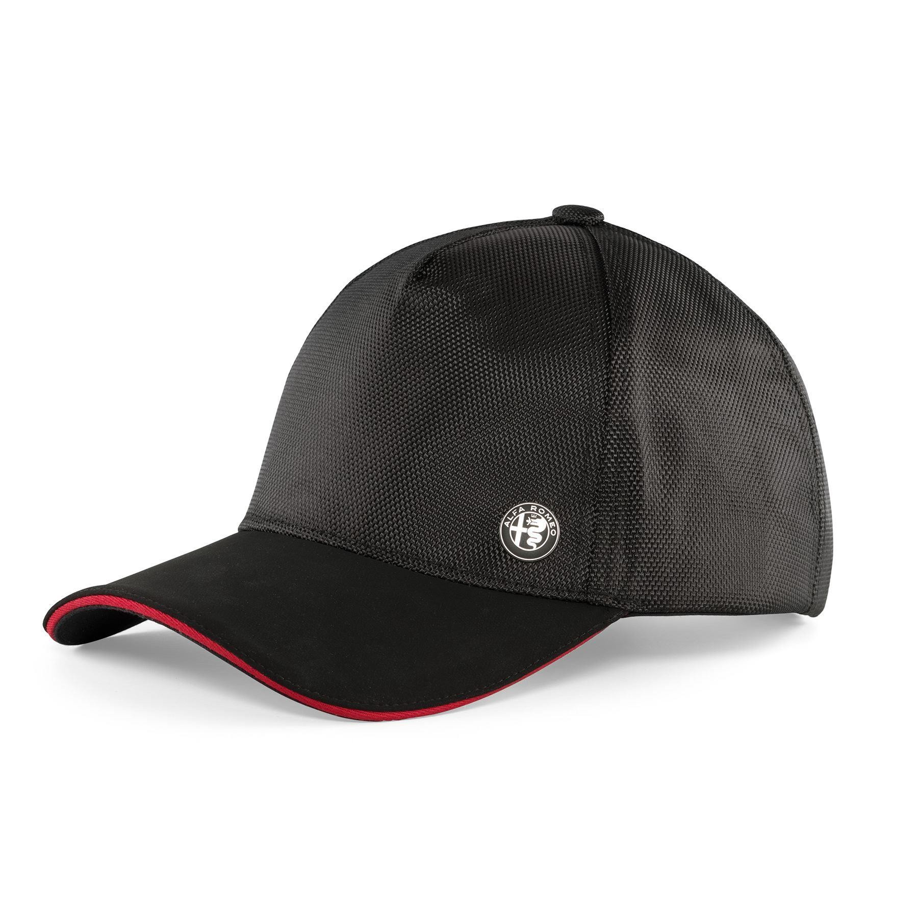 Genuine Alfa Black Technical Cap