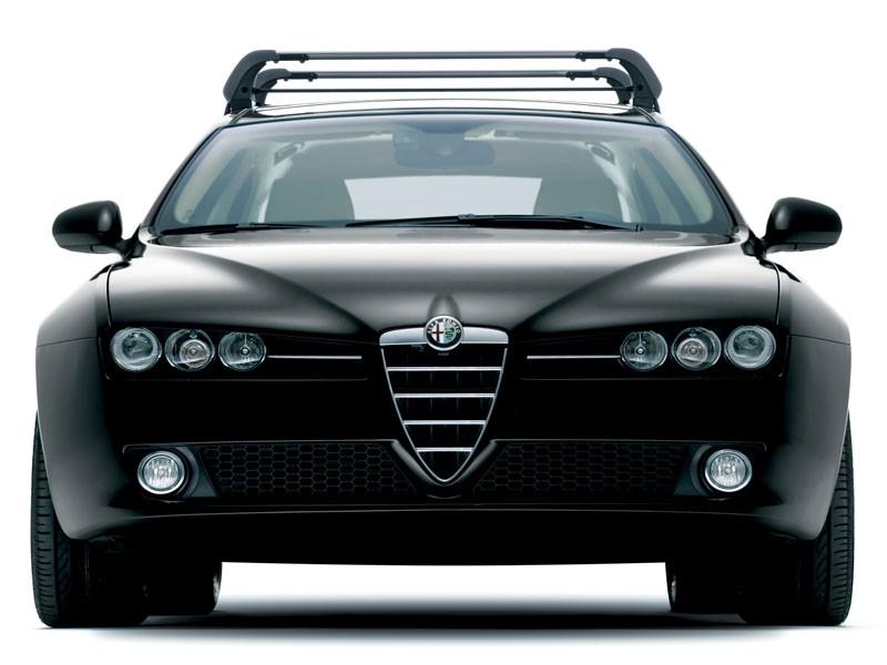 Alfa 159 Thule Roof Bars - Aluminium