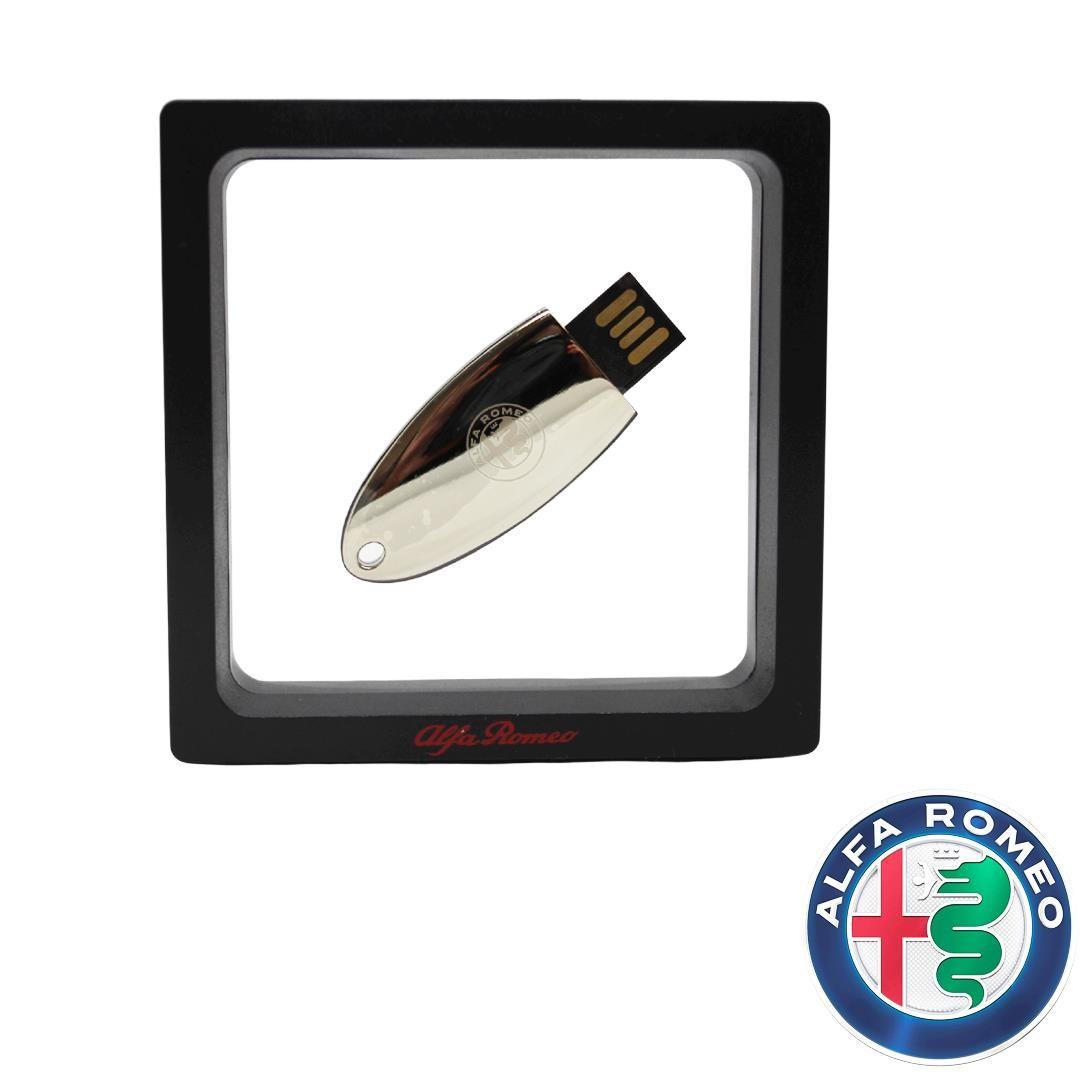 Genuine Alfa Silver USB Stick