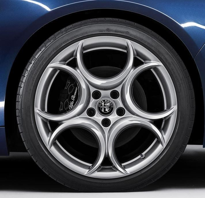 Giulia Alloy Wheel (Rear Wheel) - Silver - Single Wheel