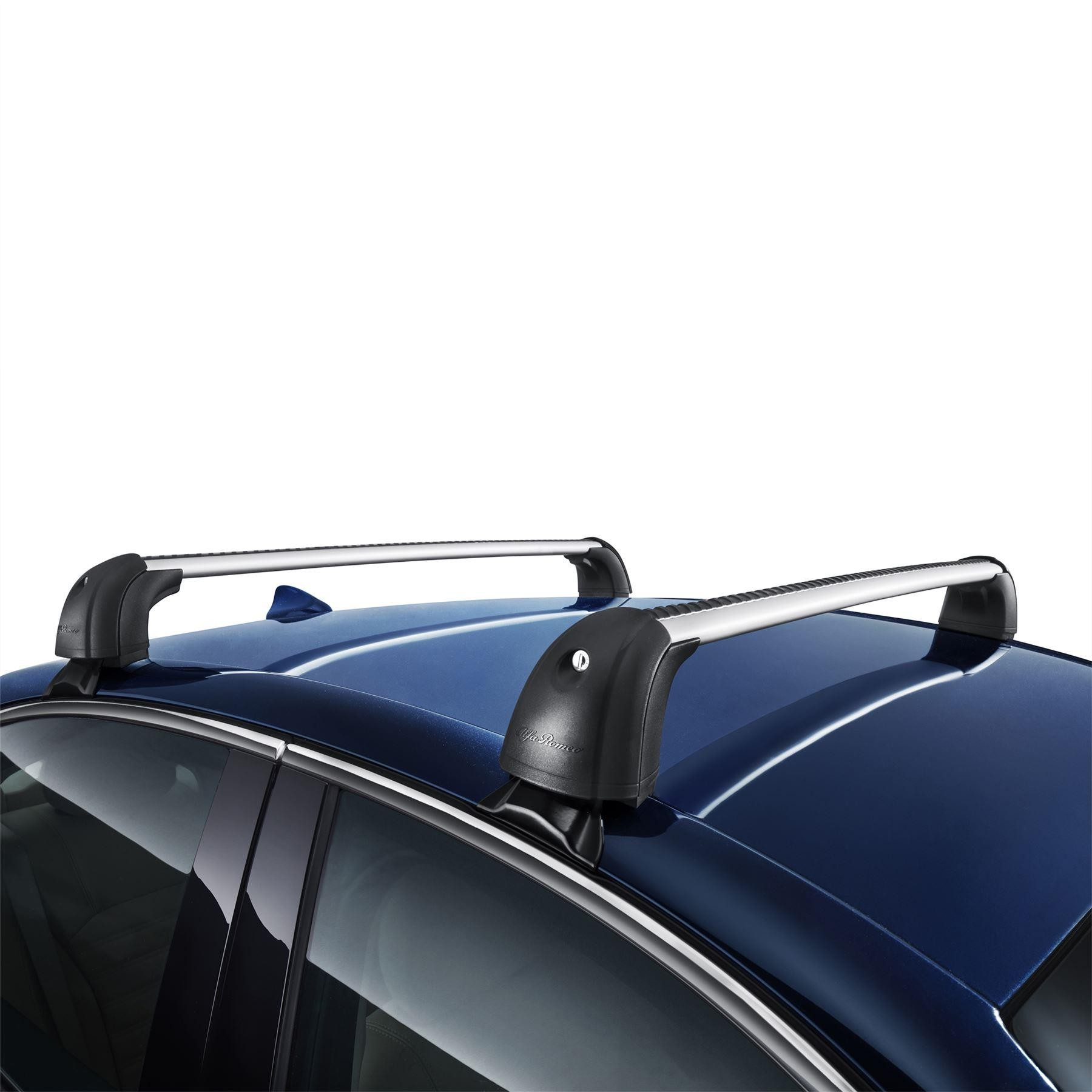 Giulia Transport/Cargo/Load - Roof Bars with Alfa Logo