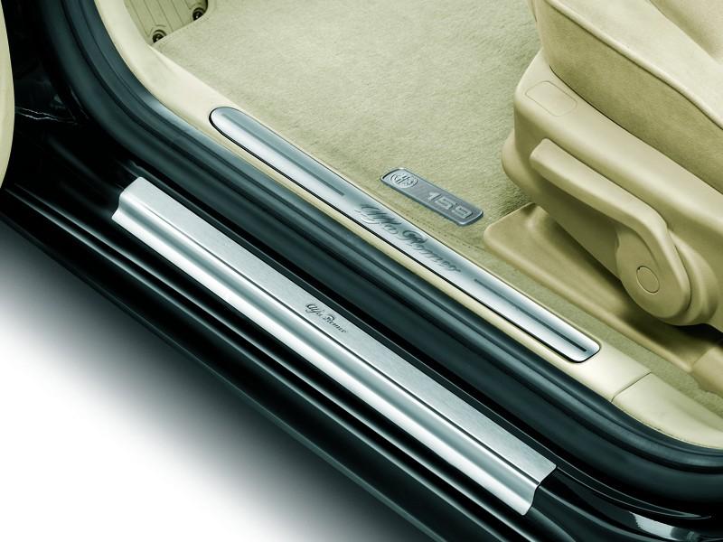 Alfa 159 Front Steel Kickplates