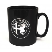 Alfa Romeo Black Ceramic Mug