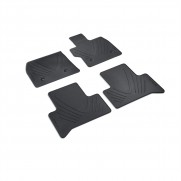 Stelvio All Weather Heavy Duty Footwell Rubber Floor Mats RHD