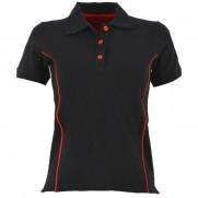 Genuine Alfa Black Womens Polo Shirt [Size: S]