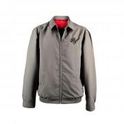 Genuine Alfa Grey Heritage Bomber Jacket [Size: M]