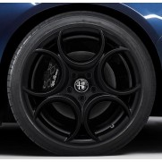 Giulia Alloy Wheel (Rear Wheel) - Matt Black - Single Wheel