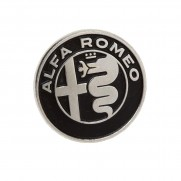 Genuine Alfa Silver Pin