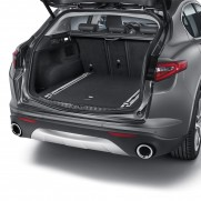 Stelvio Cargo Boot/Storage/Transport Organiser Rails