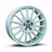 "Alfa 147 17"" White Multispoke Alloy Wheel Kit"