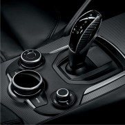 Stelvio/Giulia Gear Knob Carbon Fibre Inserts - For Automatic