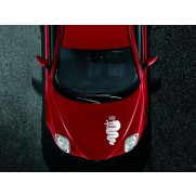 Mito Decal Bodywork Stickers Biscione Sticker - Red
