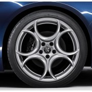 Giulia Alloy Wheel (Rear Wheel) - Silver - Single Wheel