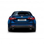 Giulia Twin/Dual Exhaust Tail Pipe - Perol Engines