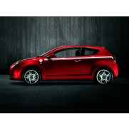 Alfa MiTo Vintage Four-Leaf Clover Sticker